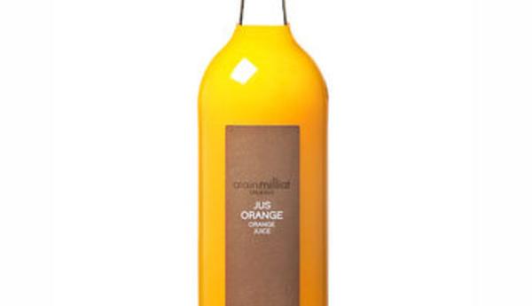 Jus d'orange Alain Milliat - 6,60 € HT